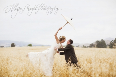 Katie and Morgan – charming wedding in San Luis Obispo
