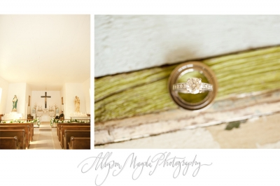 kacy + kirk! … cambria wedding