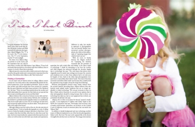 featured in Rangefinder, annual portrait issue