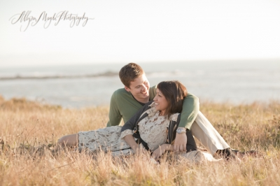 gabriela + brian … central coast engagement photos