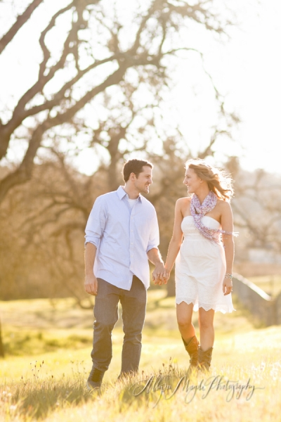 cady + russ engaged! atascadero engagement photography