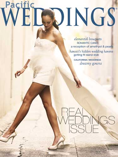 published, Pacific Weddings Magazine