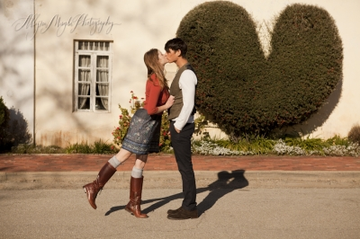 Rachel & Justin Adorably Engaged –  Harmony, CA