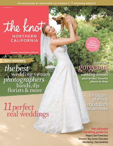 courtney + john's Bear Flag Farm featured in The Knot!
