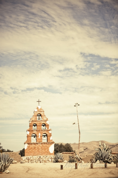 Kate and Luke, San Miguel Mission Wedding