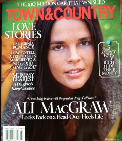 Town and Country Feature… Hearst Wedding