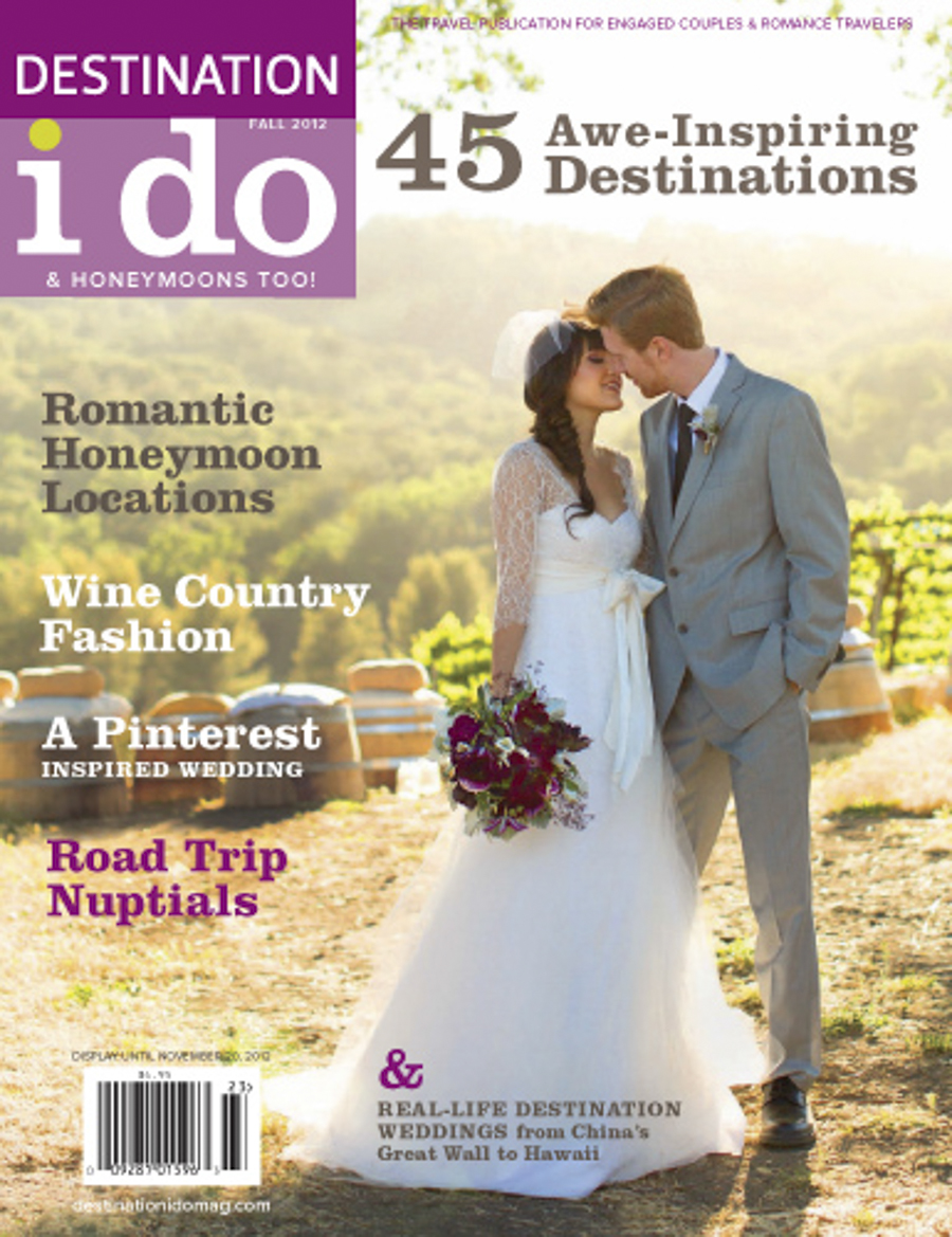 Paso Robles on Destinations I Do Wedding magazine