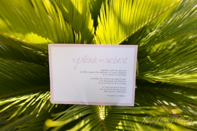 zerlina + robert, married!  St Regis Monarch Beach, Dana Point