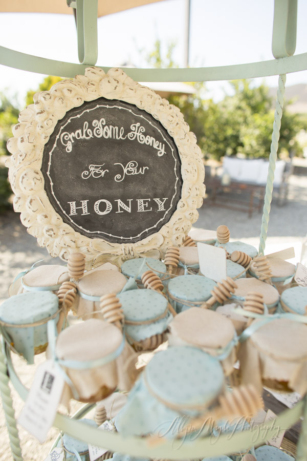 Dana Powers House wedding favors