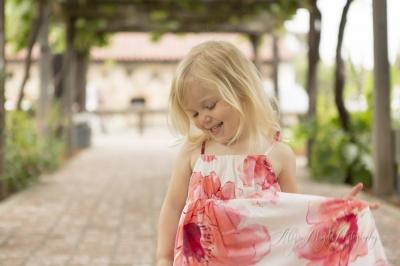 little Claire  {Mission San Luis Obispo de Tolosa}