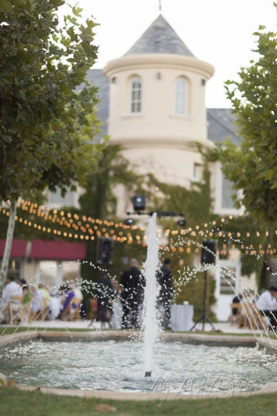 Jill & Steve married – Justin winery, Chateau Paso Robles ca.
