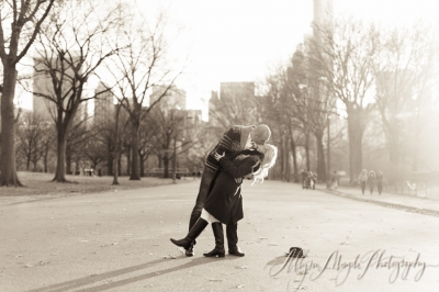 Katie and Gregg!  NYC Engagement Session