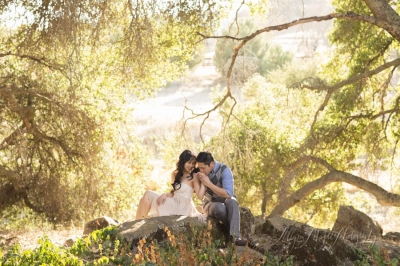 Ellen and Matt  Engaged! Orchard Hill Farms B&B Paso Robles, ca.