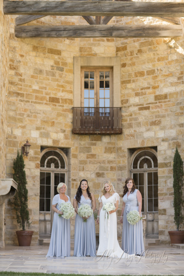 Sunstone Winery Wedding Santa Ynez Bridesmaids