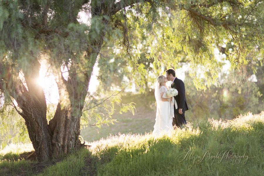 Sunstone Winery wedding, Santa Ynez, bride and groom