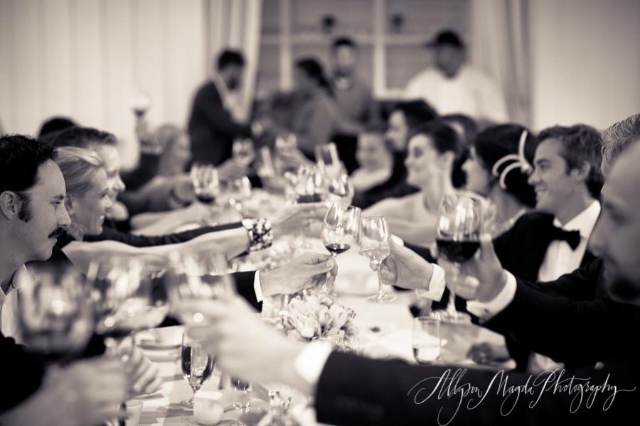Carneros Inn, Napa Valley Wedding reception