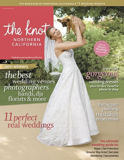 The Knot featured weddings