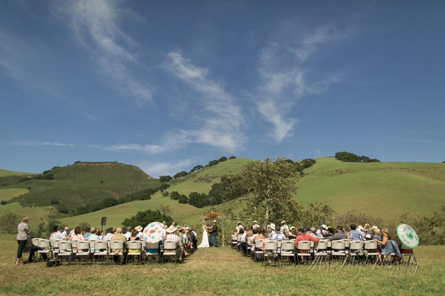 La Cuesta Ranch, San Luis Obispo Wedding ceremony