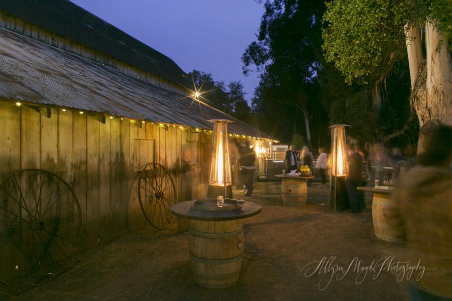 La Cuesta Ranch, San Luis Obispo Wedding reception barn