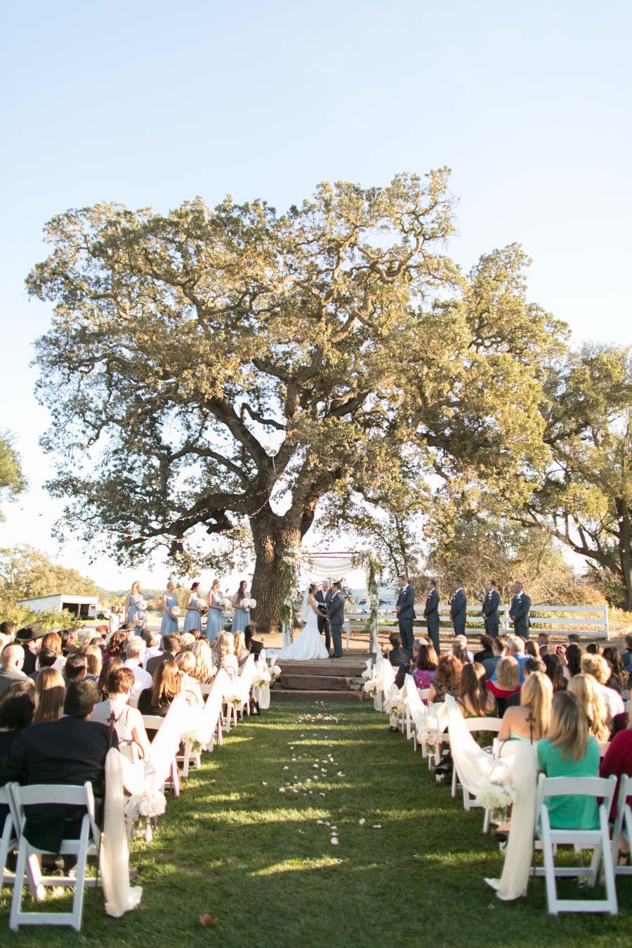 Weeding Ceremony at Santa Margarita Ranch Wedding