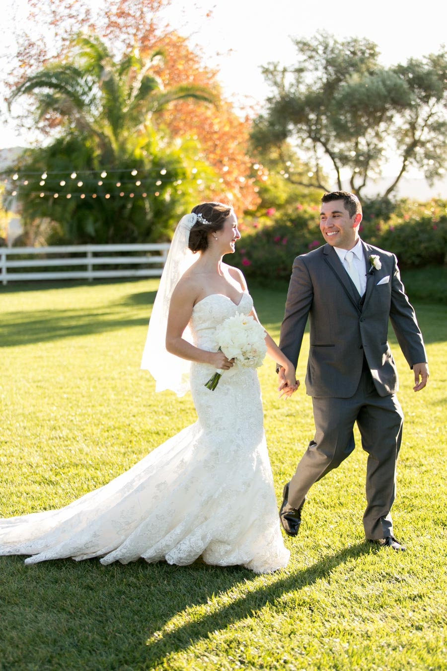 Just married at santa margarita ranch, ca