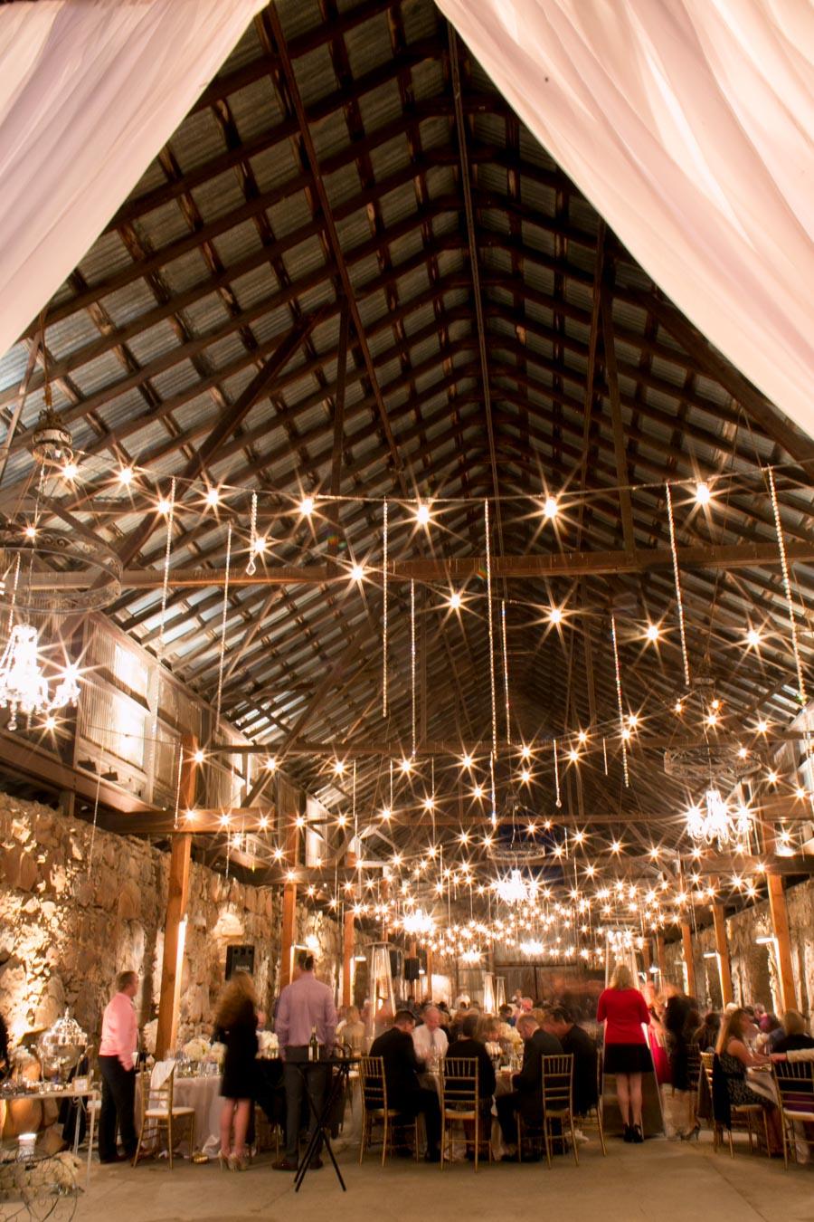 santa margarita ranch wedding reception barn