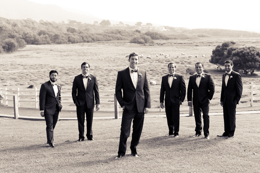 carmel mission ranch groomsmen