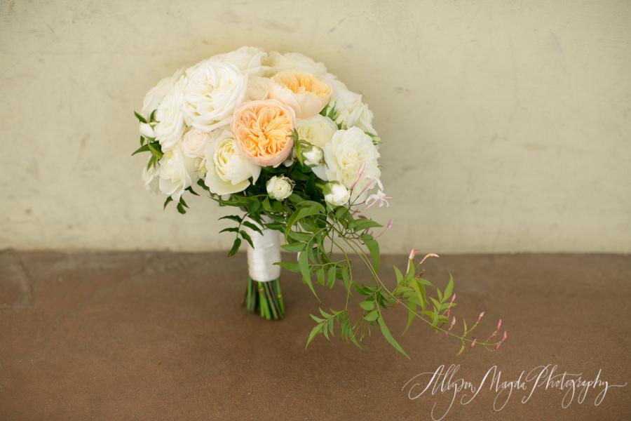 carmel mission bridal bouquet
