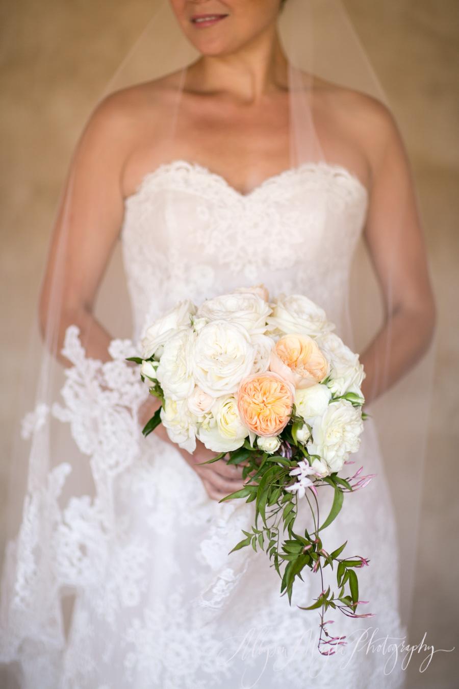 bridal bouquet carmel mission