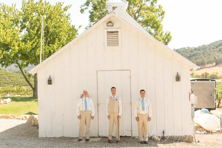 hammersky winery groomsmen paso robles, ca