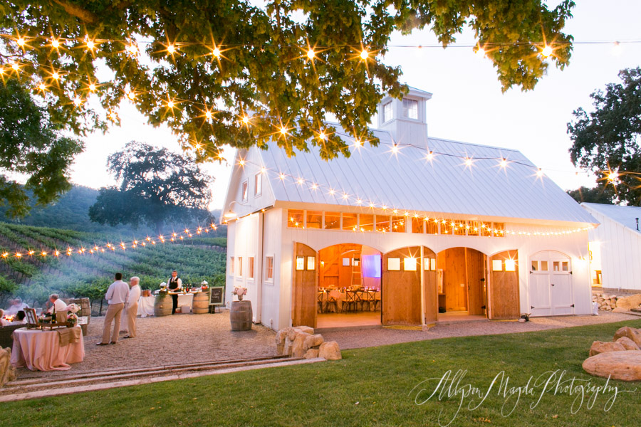 hammersky vineyards wedding paso robles