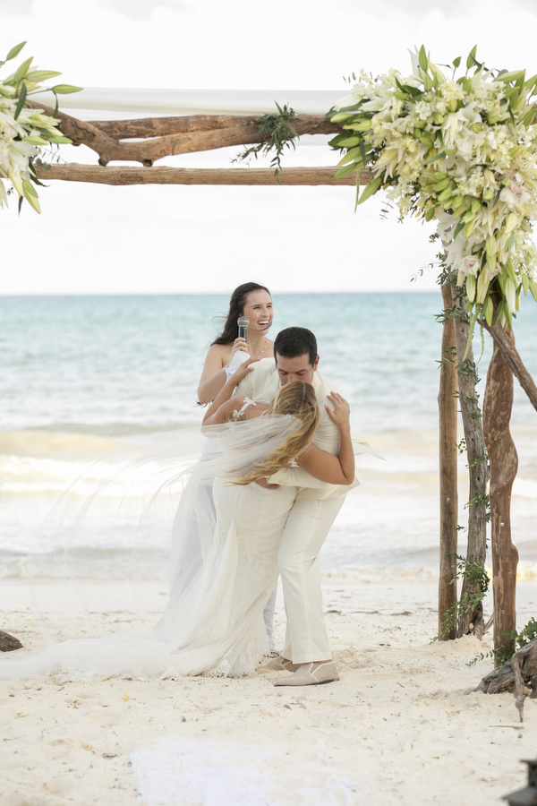 tulum wedding beach ceremony