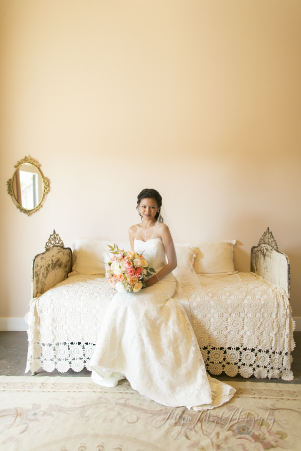 Dana Powers House Barn wedding, Nipomo, bride