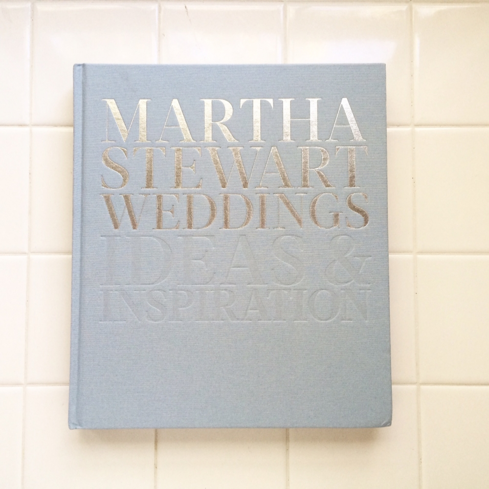 Martha Stewart Wedding book, featuring allyson magda photography
