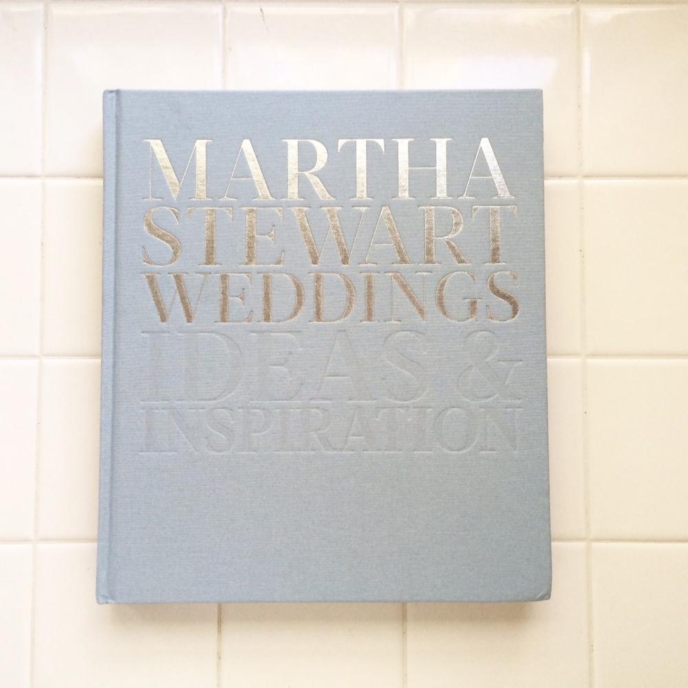 Martha Stewart Wedding book, featuring allyson magda photography