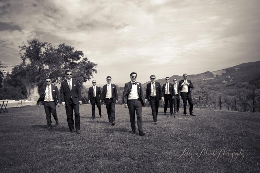 groomsmen-Sunstone-villa-winery-wedding