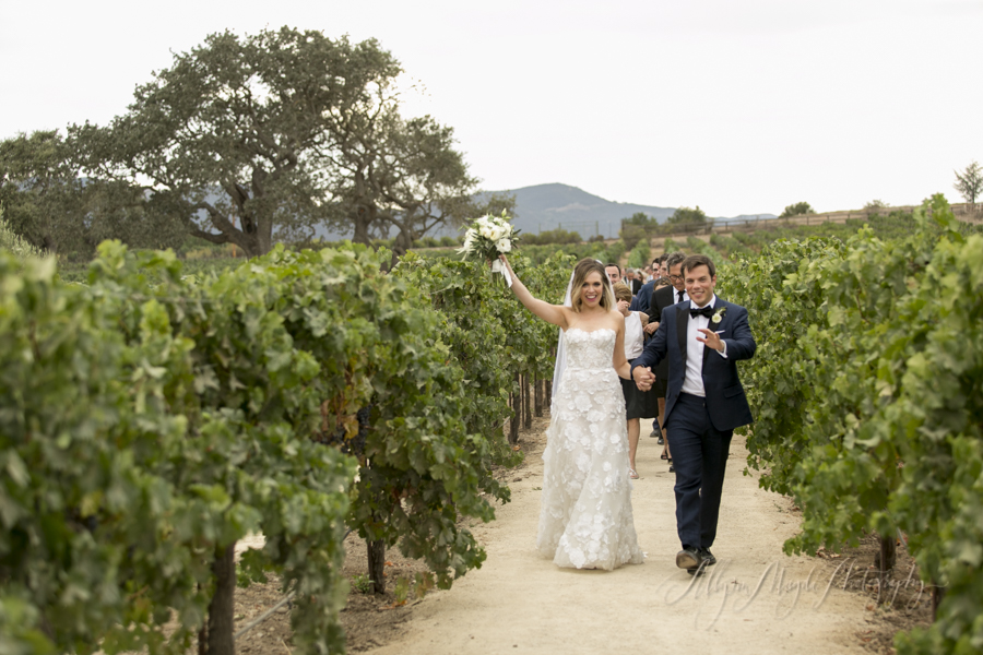 vineyard-ceremony-wedding-couple-in-vineyard-Sunstone-villa-winery-wedding
