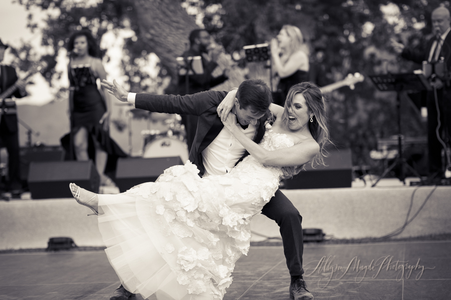 first-dance-wedding-couple-in-vineyard-Sunstone-villa-winery-wedding