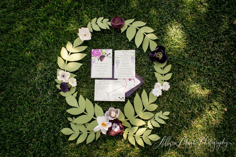 Lekai Ranch wedding invitation