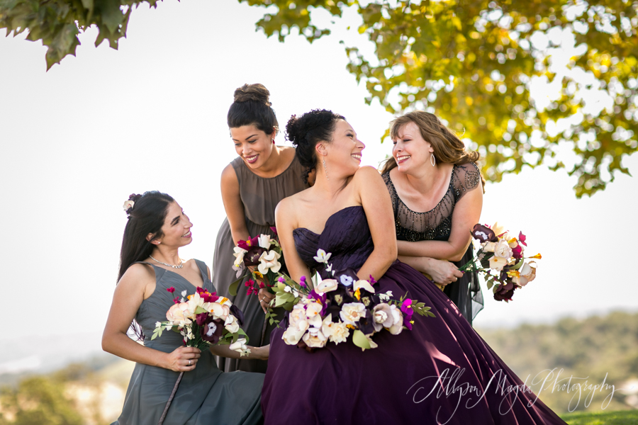 Lekai Ranch bridesmaids, paso robles