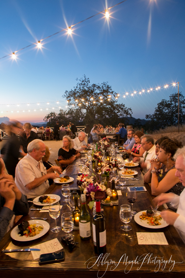 lekai ranch wedding reception, paso robles