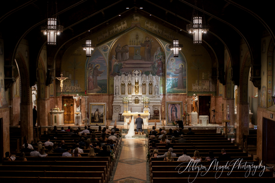 Long Beach wedding, church ceremony