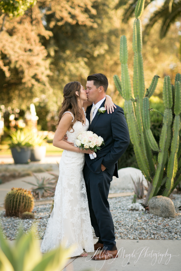 long beach wedding, bride and groom portrait