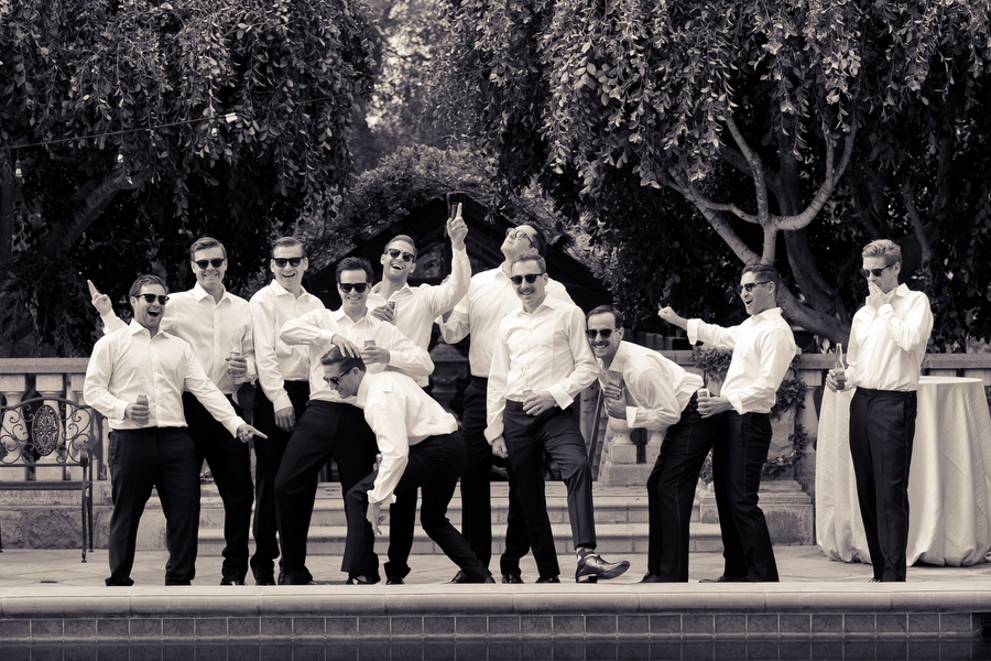 groomsmen montecito wedding
