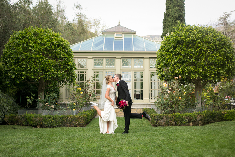 mr and mrs at montecito private estate wedding