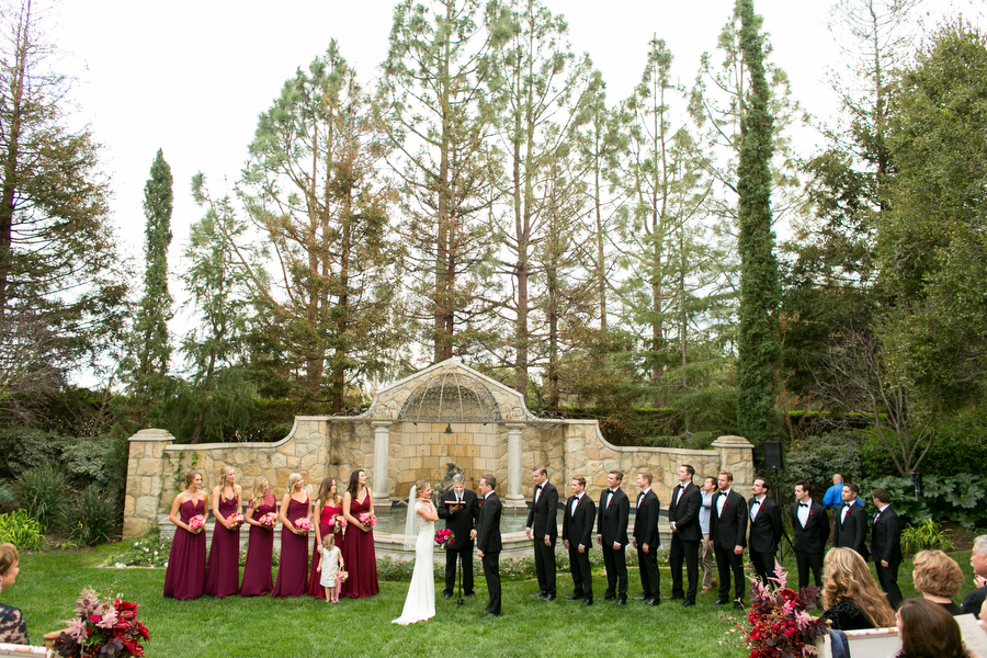 blessing ceremony montecito wedding