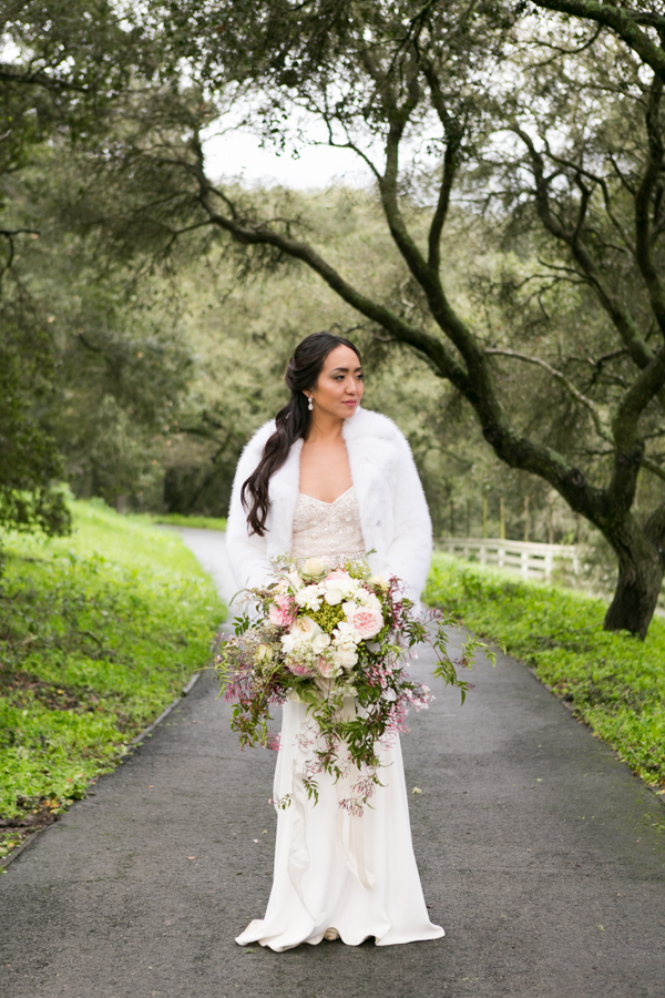 bride, holman ranch wedding carmel valley