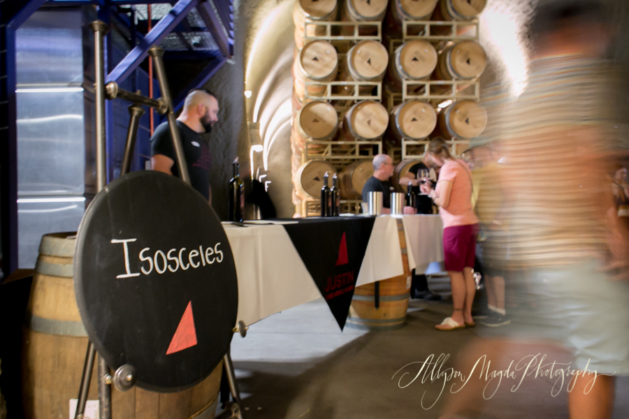 justin winery gala, paso robles