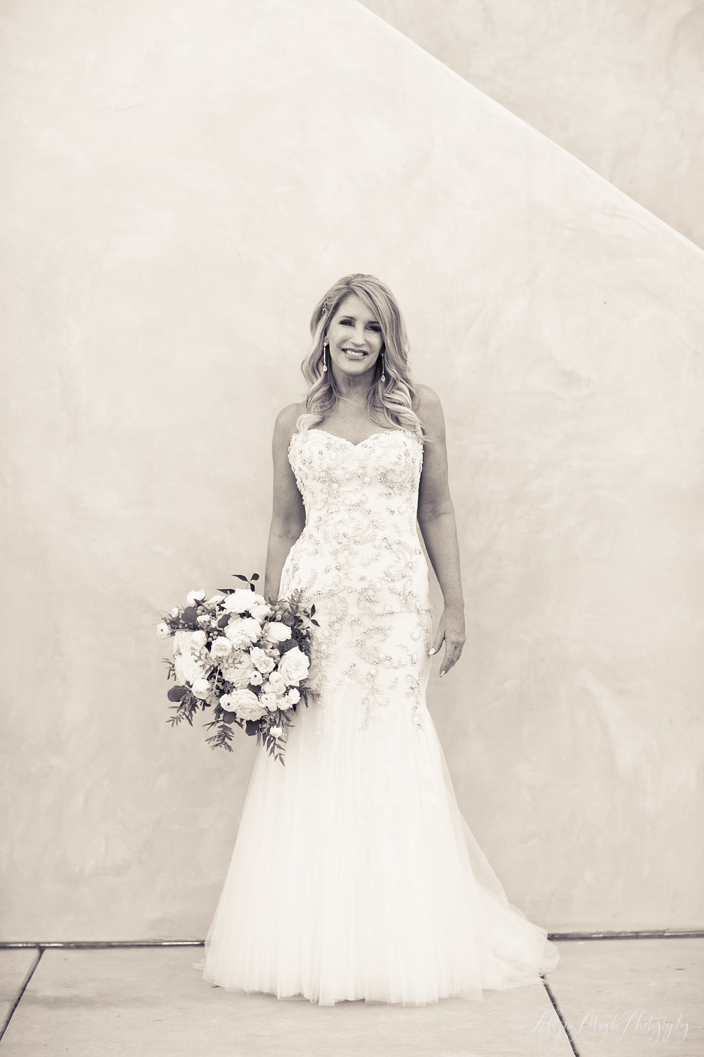bride at Croad winery paso robles