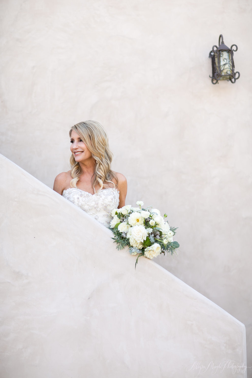 bride at croad winery, paso robles